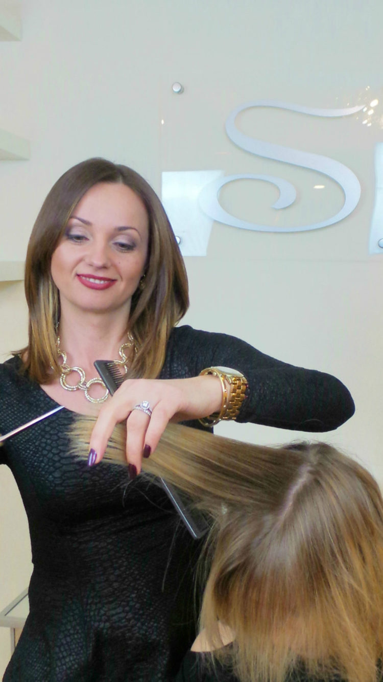Ana has been a stylist, colorist and makeup artist for 22 years. Her haircuts are full of movement and always on trend. She is able to execute a wide ...